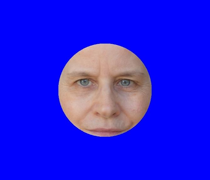 Farbberatung online – Kobaltblau - Copyright Foto in der Grafik: Sabine Gimm