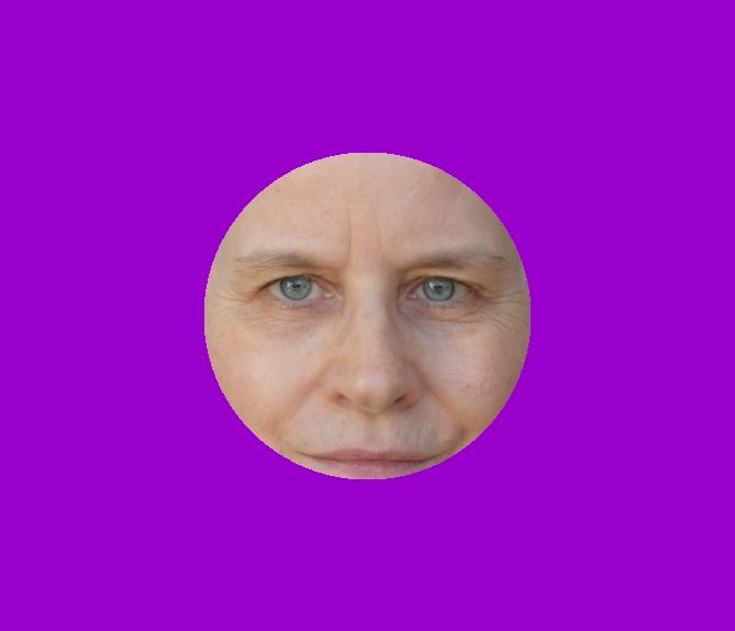 Farbberatung online – Lila - Copyright Foto in der Grafik: Sabine Gimm