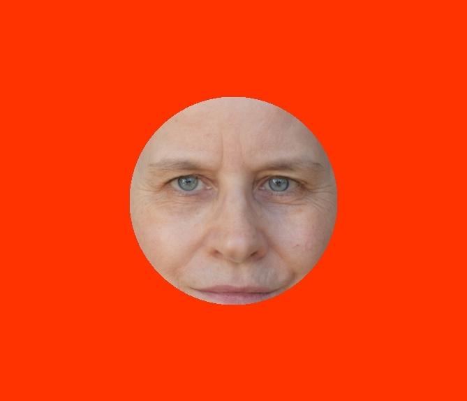 Farbberatung online – Rot kalt - Copyright Foto in der Grafik: Sabine Gimm