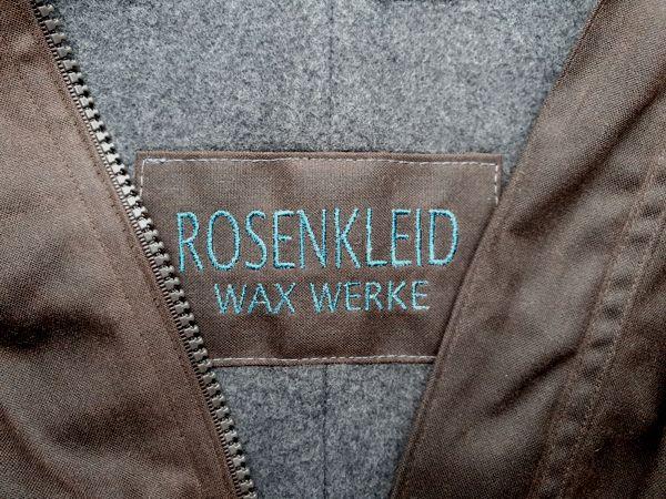 WAXWERKE - ROSENKLEID Etikett