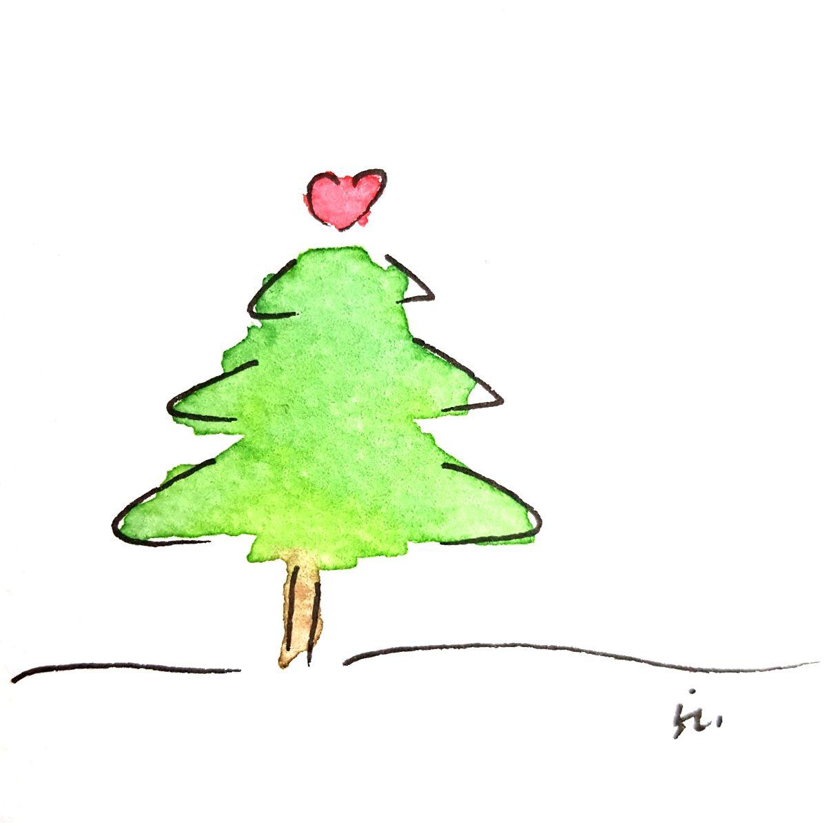 Weihnachtskarte DIY