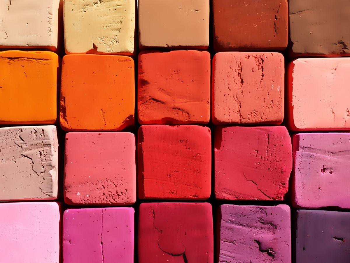 Lippenstiftfarben Rotnuancen von Nude bis Violett