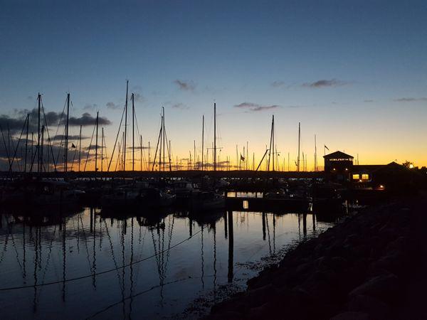 Marina Minde Sonnenuntergang
